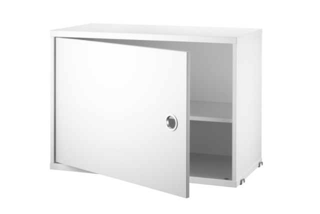 Cabinet with swing door